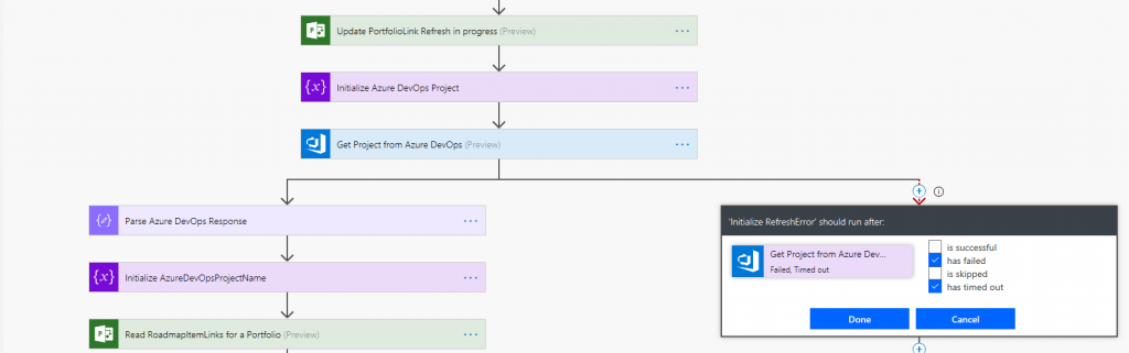 Azure Board Flow connection with Roadmap part 2 detail